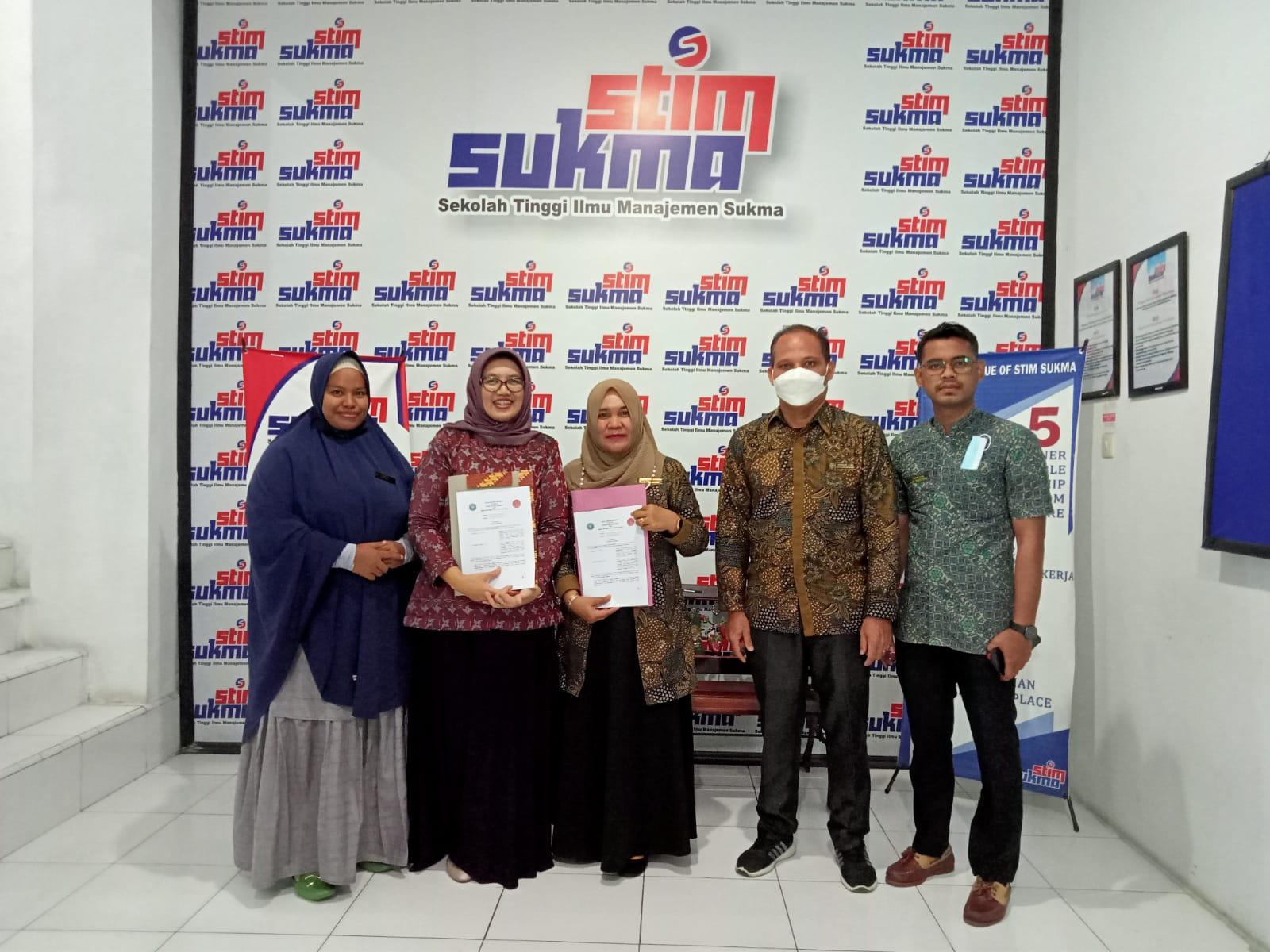 Muo SMK Gelora Jaya Nusantara Medan dengan STIM Sukma Medan