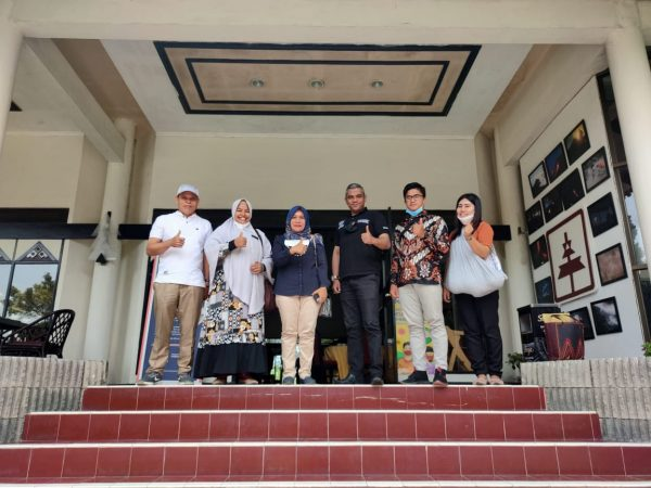 Bersilahturahmi Dan Menjalin Kerja Sama Dengan Hotel Sibayak Berastagi