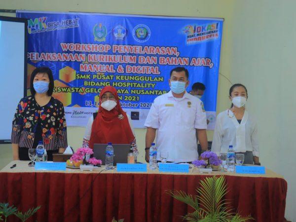 Workshop Penyelaransan, Pelaksanaan Kurikulum Dan Bahan Ajar Manual Dan